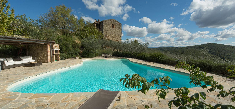 La Veranda Di Campagna umbrian holiday luxury rental | monastero san lorenzo